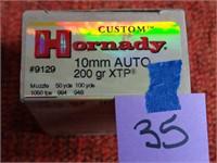 Hornady 10mm Auto 200gr XTP 20rnds