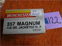 Winchester 357 Magnum 158gr JHP 40rnds