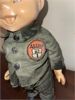 Vintage Allied Van Lines Advert. Buddy Lee Doll