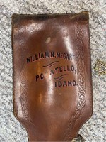 William N. McCarty Etched Sword and Scabbord