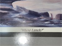 """""""Whose Lunch?"""" Neva Harrision 1993"""
