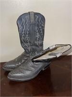 Grey HyTest Cowboy Boots