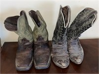 Work Boots and Cowboy Boots
