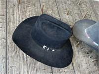 Black and Grey Cowboy Hats