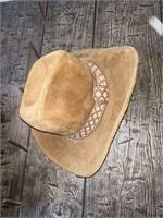 2) Tan Cowboy Hats