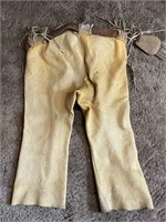 Homemade Leather Pants with Pouch