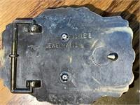 4) Metal Belt Buckles