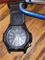 Money Clip in Box, Accua Watch and Casio Watch