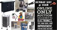 General Merchandise & Home Improvement Auction 3/07/2021