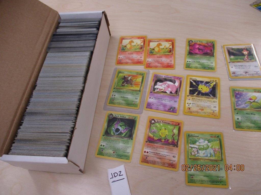 Whole Box of Pokemon Trading Cards-added more pics