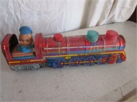 TOY TIN TRAIN