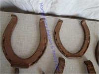 ASSORTED HORSESHOES