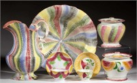 From a fine selection of Spatterware