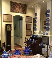The Routson Collection in situ - please note that some items shown will be included in future auctions