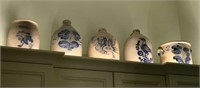 The Routson Collection in situ - sample of stoneware