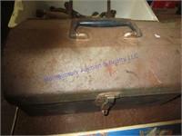 OLD TOOLBOX & TOOLS