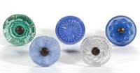 Frrom the Almon collection of glass furniture knobs