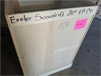 """24"""" Exeter Snowdrift Vanity"""