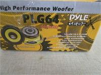 PYLE GEAR WOOFER