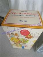 BOXED AVON BOTTLES