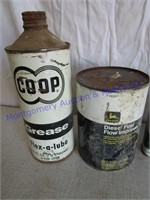 GREASE/OIL CANS
