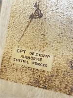 CPT de stump airborne special forces art made