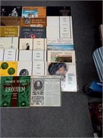 Lot of Vintage Records including Heinrich Schutz
