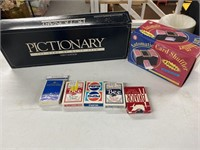 Pictionary the game of quick draw first edition,