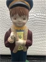 Ceramic Boy Figurine