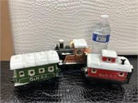 Porcelain G & N R. R. Train Set