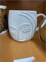 Lot of drinking mugs