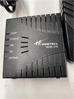 Verizon routers, recoton, westell versalink m