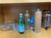 Veggie chopper, Milk jar dispenser, 3/4 liter
