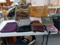Lot of Purses and Incase Tablet Case