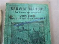 JD COMBINE MANUALS