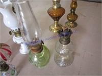 MINATURE OIL LAMPS