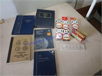 COIN BOOKS & HOLDERS