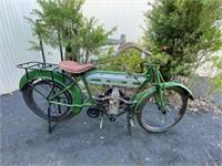 1914 Douglas motorcycle & parts