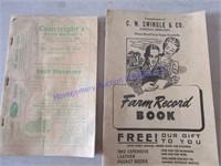 PHONE BOOK & FARM DIRECTORY