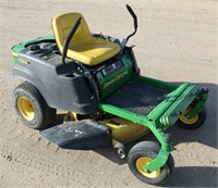 Lot # 5005.  John Deere Z225 EZ Track Zero Turn Mower.   Absentee bidding available on this item.  Click catalog tab for more information.