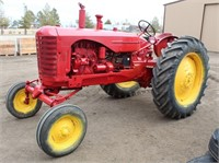 Lot # 5007.  Massey Harris 44 Tractor.   Absentee bidding available on this item.  Click catalog tab for more information.