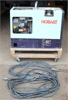 Lot # 5008.  Hobart Champion 10,0000 Portable Welder/Generator, engine runs good (needs a new circuit card assembly).   Absentee bidding available on this item.  Click catalog tab for more information.
