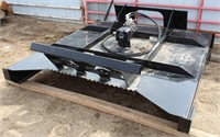 """Lot # 5012.  Skid Steer Hyd Rotary Mower, 72"""".  Absentee bidding available on this item.  Click catalog tab for more information."""