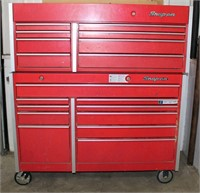 Lot # 5015.  Snap-On Tool Box.  Absentee bidding available on this item.  Click catalog tab for more information.