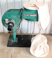 Lot # 5019.  Grizzly Industrial Dust Collector.   Absentee bidding available on this item.  Click catalog tab for more information.