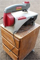 """Lot 5023.  Craftsman 16"""" Scroll Saw.   Absentee bidding available on this item.  Click catalog tab for more information."""
