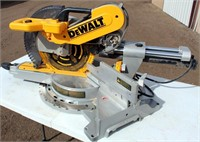 """Lot # 5028.  DeWalt DWS 780 12"""" Sliding Miter Saw.   Absentee bidding available on this item.  Click catalog tab for more information."""
