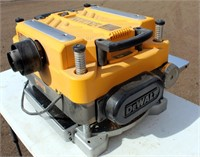 """Lot # 5029.  DeWalt DW735 13"""" Thickness Planer.   Absentee bidding available on this item.  Click catalog tab for more information."""