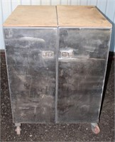 """HD Metal Cabinet, on casters, 43"""" h x 28"""" d x 32"""" w"""