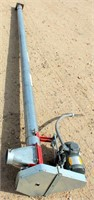 """Hutchinson Drill Fill Auger, 4"""" Tube, w/Baldor 3-Phase Motor"""